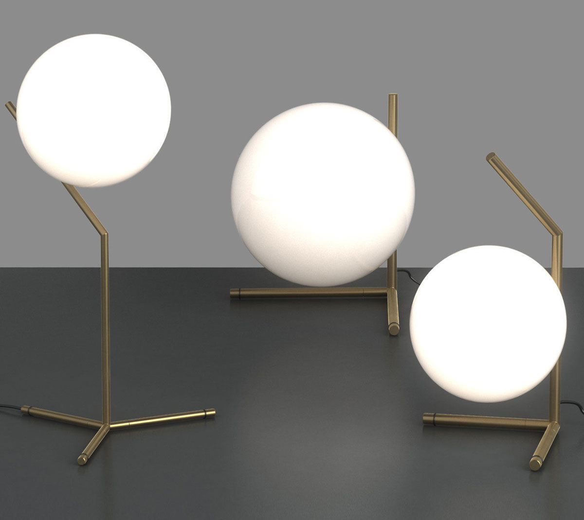 Luminaires / Lampe de table / IC